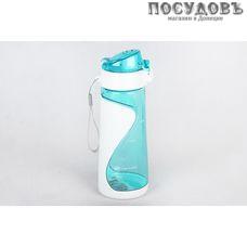 Коралл 3861 бутылка с ремешком, 580 мл, полипропилен, без упаковки 1 шт.