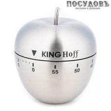 KING Hoff KH-3133, таймер кухонный, Ø63×72 мм, сталь нержавеющая без упаковки 1 шт.