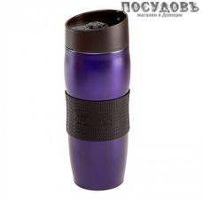 Alpenkok AK-04036A термокружка, колба сталь нержавеющая 400 мл, цвет фиолетовый