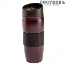 Alpenkok AK-04037A термокружка, колба сталь нержавеющая 400 мл, цвет сливовый