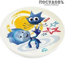 Little Angel Фиксики Нолик LA1315-1 тарелка детская, Ø187×25 мм, 450 мл, полипропилен, Россия