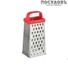 Кварц К01.000.08 терка 4-х гранная, (жесть белая), ручка пластик, Россия, 1 шт
