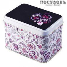 РФЖУ Бута 040-00696 банка для хранения с крышкой, 69×67×98 мм, 400 мл, жесть, Россия, без упаковки 2 пр.