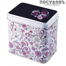РФЖУ Бута 060-00700 банка для хранения с крышкой, 98×98×67 мм, 600 мл, жесть, Россия