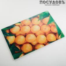 Alpenkok Апельсины AK-9003 доска разделочная, материал стекло термостойкое 200×300×4 мм, Китай, 1 шт.