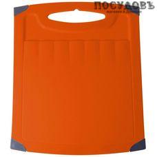 Пластик Репаблик Люкс LF1506КРЦ-70 доска разделочная, полипропилен 260×230×6 мм, цвет корица