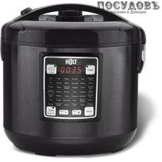 HOLT HT-MC-005 мультиварка 800 Вт, 42 программы, чаша 5 л, керамическое покрытие, цвет черный