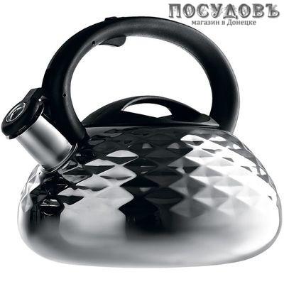 Webber BE-0592 чайник со свистком сталь нержавеющая 3 л
