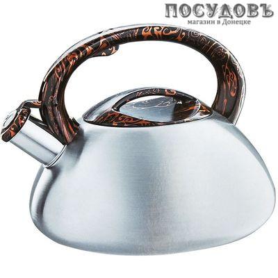 Webber BE-0594 чайник со свистком сталь нержавеющая 3 л