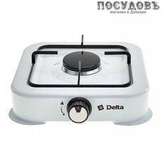 Delta D-2205 плита газовая отдельностоящая, 1-конфорочная, эмалированное покрытие, цвет белый
