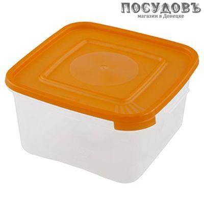 Полимербыт Каскад 670 контейнер с крышкой, полипропилен, 1000 мл