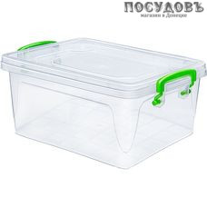 Эльфпласт Fresh Box 232 контейнер с крышкой, полипропилен, 170×110×98 мм, 1000 мл