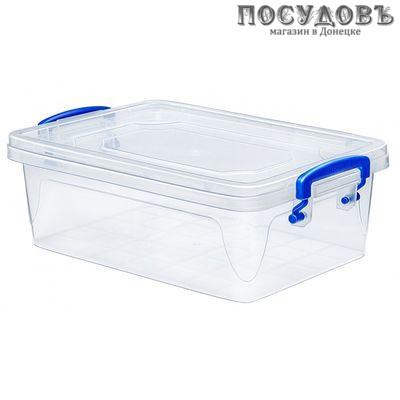 Эльфпласт Fresh Box Slim 241 контейнер с крышкой, полипропилен, 3800 мл