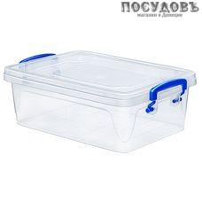 Эльфпласт Fresh Box 242 контейнер с крышкой, полипропилен, 355×235×120 мм, 6 л