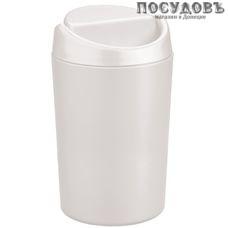 Бытпласт 431201116 контейнер для мусора, полипропилен, Ø105×h200 мм, 1,25 л, цвет белый