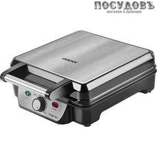 Centek CT-1453 вафельница электрическая 240×240 мм, 1100 Вт, цвет металлик с черным