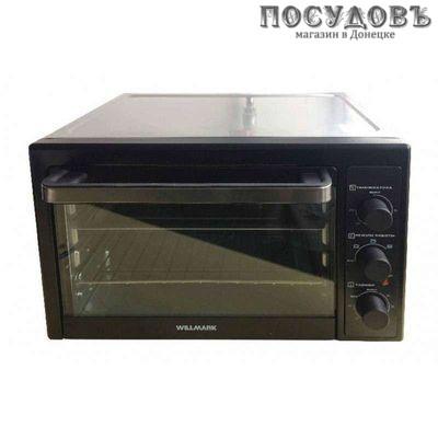 WillMark 0-42BK электрическая печь отдельностоящая 1800 Вт 42 л, без конфорок, черная