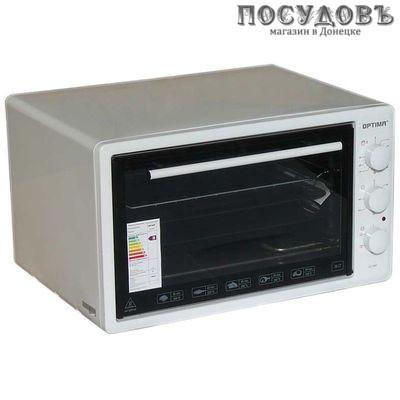 Optima ОТ-36W электрическая печь отдельностоящая 1400 Вт 36 л, без конфорок, белая