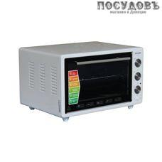 Optima ОТ-36WP электрическая печь отдельностоящая 1400 Вт 36 л, с грилем, без конфорок, белая