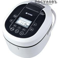 VITEK VT-4205 мультиварка 860 Вт, 14 программ, чаша 4 л, керамическое покрытие, цвет белый