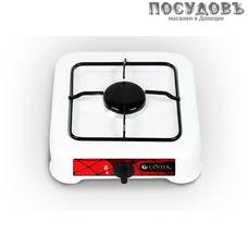 Centek CT-1520 плита газовая отдельностоящая, 1-конфорочная, эмалированное покрытие, цвет белый