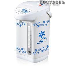 Centek CT-0072 термопот 4,5 л, 750 Вт, корпус: сталь, цвет белый с рисунком