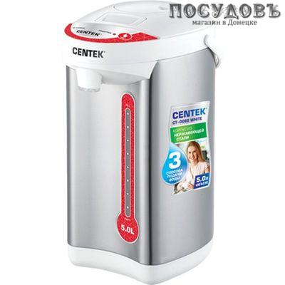 Centek CT-0082 White термопот 5,0 л, 750 Вт, белый