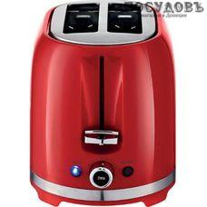 Centek СТ-1432 тостер на 2 шт, 850 Вт, цвет красный