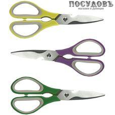 Maestro MR-1157 ножницы кухонные, сталь нержавеющая, пластиковая рукоятка, Китай, без упаковки 1 шт.
