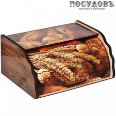 Добрый Дом ХЛ-1 хлебница, 385×285×175 мм, дерево, 1 шт.
