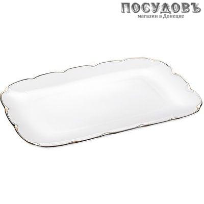 Коралл Клевер LTCV-P0428-A блюдо, керамика, 280×190×20 мм, 1 шт.