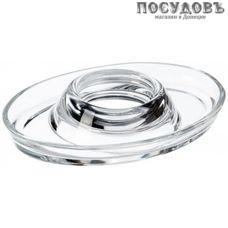 Pasabahce Basic 53382 подставка под яйцо, 127×91×15 мм, стекло, Россия, без упаковки 1 шт.