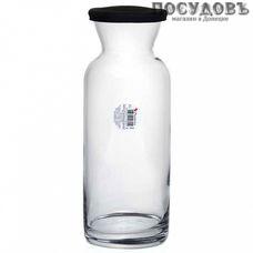 Pasabahce Village 43824SLB/K, декантер с силиконовой крышкой 1260 мл, материал стекло, Россия, без упаковки 2 пр.