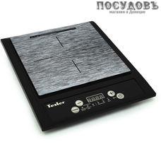 Tesler PI-13 плита индукционная, 1-конфорочная, 2000 Вт, цвет черный