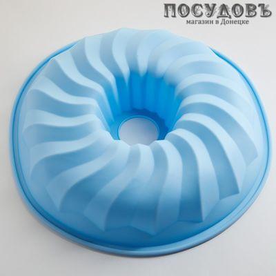 Webber Радужная АК-6109S форма для выпечки, голубой, 1 шт.