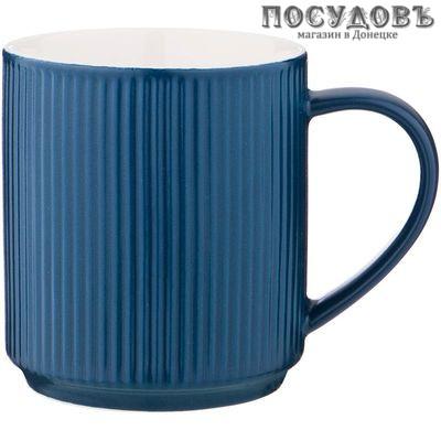 Lefard 482-152 кружка, цвет синий, 300 мл, фарфор, Китай, без упаковки 1 шт.