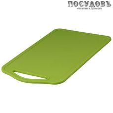 Starplast 94115 доска разделочная, материал полипропилен 346×220 мм, цвет зеленый