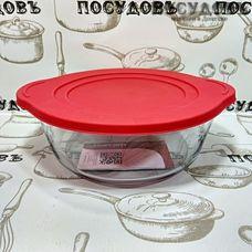 Borcam 59001, форма для запекания, стекло жаропрочное, 251×220×80 мм, 2100 мл, Турция, в упаковке 2 пр.