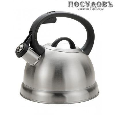 KING Hoff KH-1327 чайник со свистком сталь нержавеющая 1,8 л