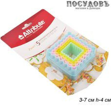 Attribute ABP205 формы для вырезания, (пластик), в комплекте 5 форм, Китай