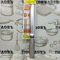 Maestro MR 1471 нож универсальный, лезвие: сталь нержавеющая 200×2 мм рукоятка из нержавеющей стали, Китай, в упаковке 1 шт.