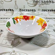 Батлер Цветущие лилии SW17001 миска, керамика, Ø180×55 мм, 550 мл, Китай