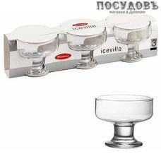 Pasabahce Ice Ville 41016 креманки в наборе, стекло, Ø100×81 мм, 265 мл, в упаковке 3 шт.