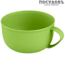 Phibo 433264609 кружка для бульона 500 мл, полипропилен, зеленый, без упаковки 1 шт.