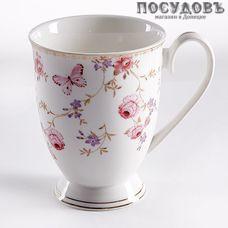 Beatrix Арабель МХ015L1 кружка подарочная, белая с рисунком, 360 мл, фарфор, Китай, в подарочной упаковке 1 шт.