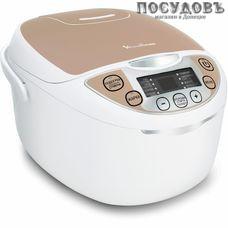 Moulinex MK706A32 мультиварка 750 Вт, 9 программ, чаша 5 л, керамическое покрытие, цвет белый с персиковым