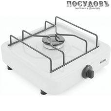 Мечта 100М плита газовая отдельностоящая, 1-конфорочная, стеклоэмалевое покрытие, цвет белый