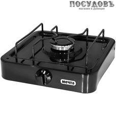 Мечта 101Т плита газовая отдельностоящая, 1-конфорочная, стеклоэмалевое покрытие, цвет черный