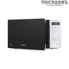 Samsung ME83KRW-1/BW отдельностоящая микроволновая печь, 800 Вт, 23 л, белый, черный
