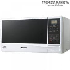 Samsung ME83KRW-2/BW отдельностоящая микроволновая печь, 800 Вт, 23 л, белый, черный